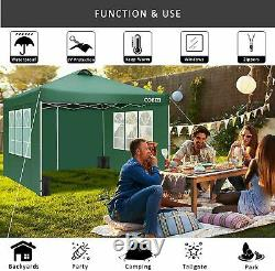 3x3M Gazebo Marquee Strong WaterproofGarden Patio Party Tent Canopy Outdoor NEW