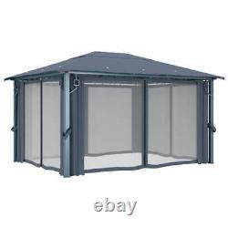 4x3 M Gazebo Outdoor Marquee Patio Bbq Canopy Party Shelter Tent Duty Heavy Duty